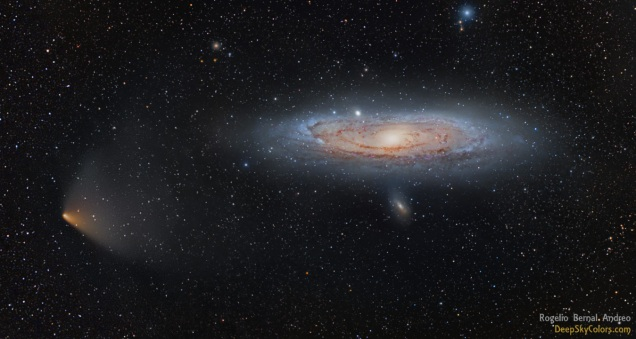 M31 and PanSTARRS | Rogelio Bernal Andreo