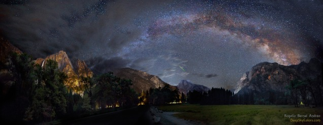 Striking synchronicity (Yosemite Valley) | Rogelio Bernal Andreo