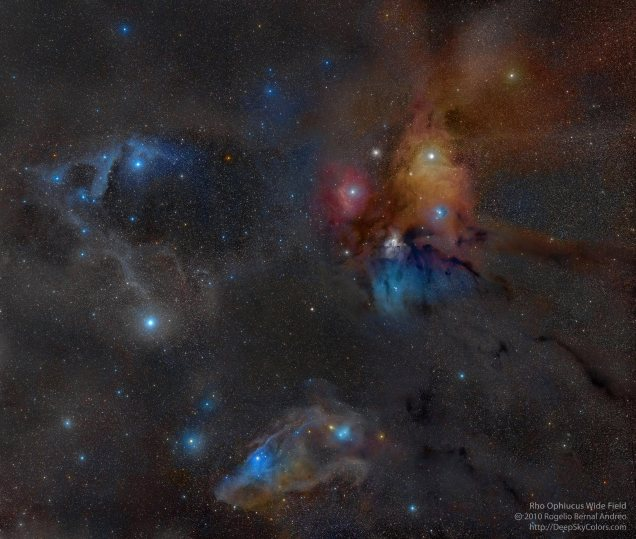 Rho Ophiuchus Widefield | Rogelio Bernal Andreo