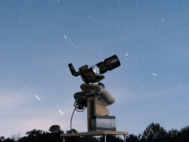 This DIY rig and some free software is all David Schneider needed to detect a known exoplanet.
