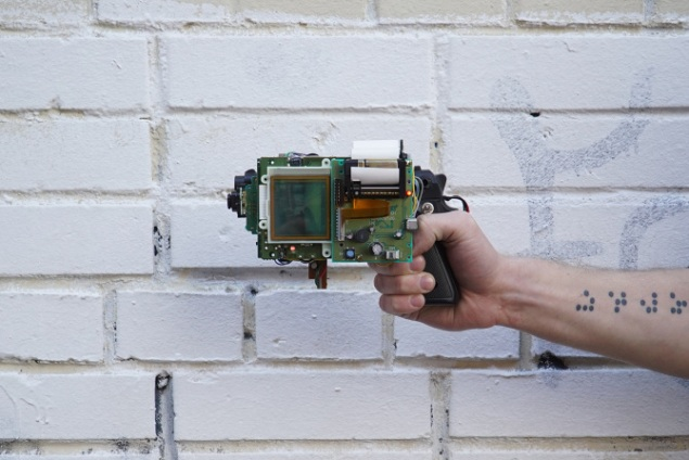 Dmitry Morozov's 8-bit Instant Photo Gun.