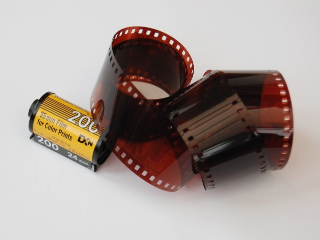 It cost 99p to develop that roll of film, which is incredibly expensive compared to a £2000 DSLR.