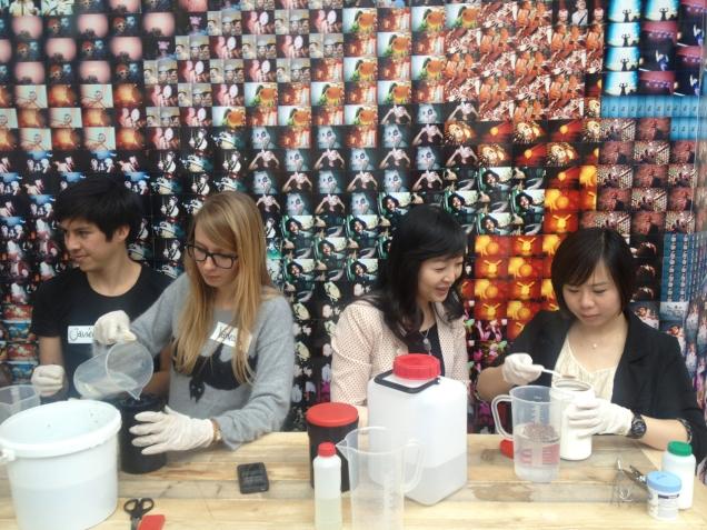 Team Lomography at Photokina getting high on Caffeine Flavoured Dev.