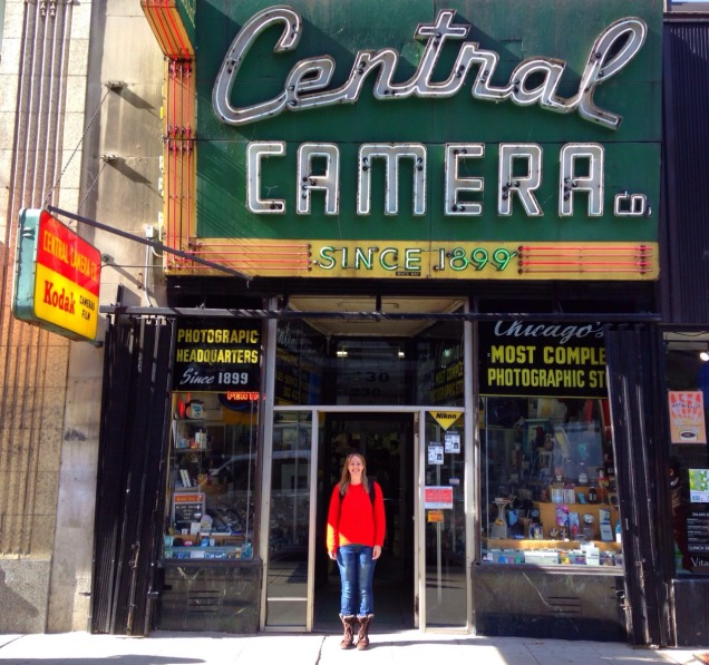 It's easier to find bargains online, but some camera shops like Central in Chicago are like living museums.