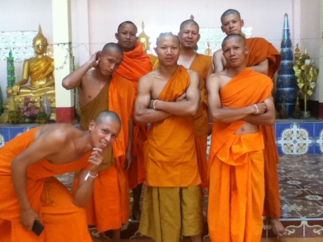 Monks in my Phone 1
