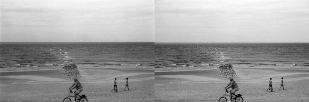 As you can see - the image on the left scanned with a prosumer CCD scanner is a lot less sharp with much less dynamic range than the one on the right scanned with a drum scanner. The left image was actually slightly sharpened in post, while the right one had absolutely no sharpening done to it. This is again due to the fact that a CCD scanner is basically taking a picture of your image through a lens and sensor. Why the drum scanner scan is so much sharper and clearer is the least-optics on the signal path,, better mechanics and that it uses PMT's.