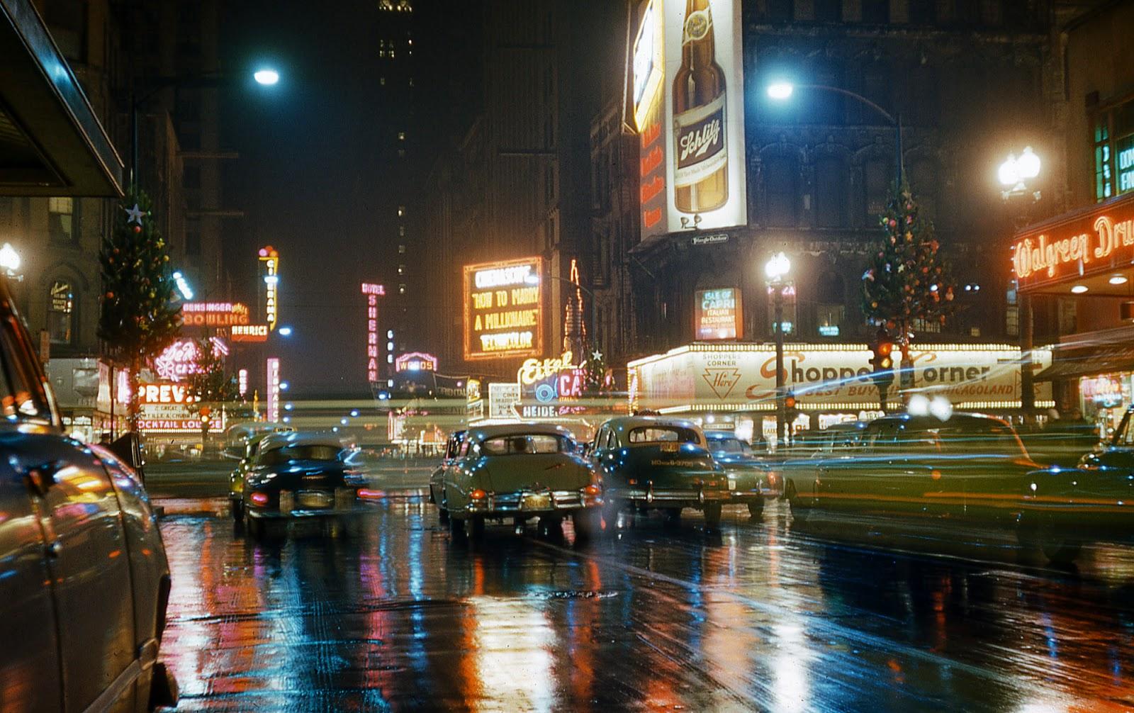 Chicago 1950s Phogotraphy