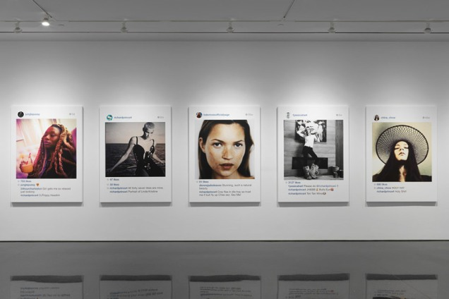 'New Portraits' by Richard Prince.