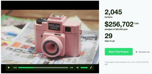 Holga Digital Kickstarter