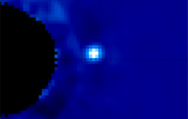 Exoplanet Directly Imaged