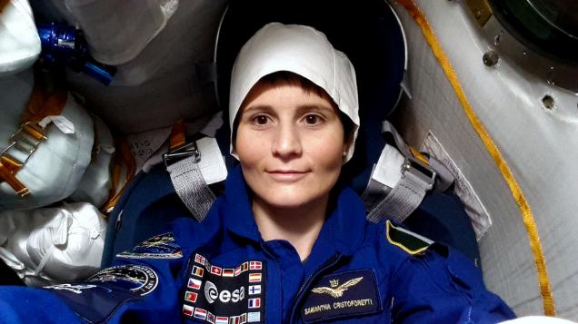 Cristoforetti in Soyuz