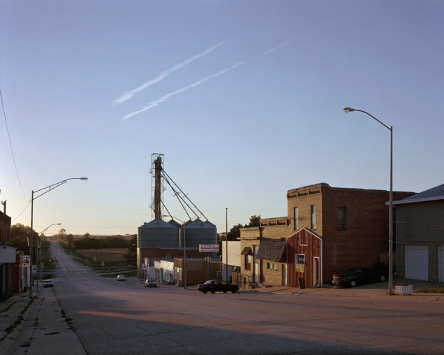 Union, Nebraska at sunset. All images © Jack Latham/INSTITUTE